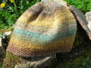 Knit using handspun.